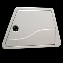 Tracker 22 X 16 Inch Off White Plastic Trapezoid Boat Hatch