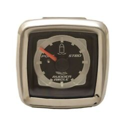 Veethree Boat Rudder Angle Gauge 780889sdfb   Chaparral Dual Engine Square