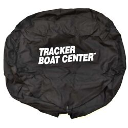 Carver Covers Boat Spare Tire Cover Tc14ssp-02 | Tracker 14 Inch Black