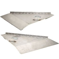 Sea Ray Boat Trim Tab 3419   25 X 24 Inch 6 Gauge Stainless Set Of 2