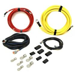 Hydra Sports Boat Battery Cable Harness 240-04525-h   21 And 16 Ft Kit