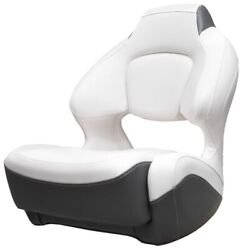 Chaparral Boat Captains Helm Seat 31.00510   Bolster White Graphite