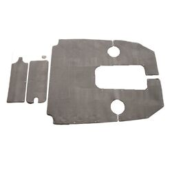 Sea Ray 2012 Oem 190 Ob Dolphine Gray Boat 3-piece Snap In Carpet Set 2079874