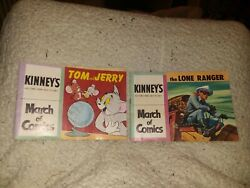 March Of Comics Giveaway Comic Cut 173 And 174 The Lone Ranger And Tom And Jerry