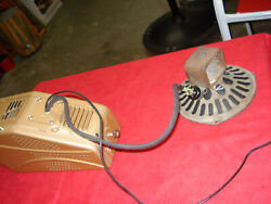 Vintage 6 Volt Radio And Speaker 40and039s 50and039s Dodgeplymouth Mo-par Chrysler.
