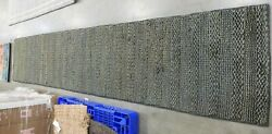 Charcoal 2'-3 X 12' Loose Threads Rug, Reduced Price 1172620941 Nf212c-212