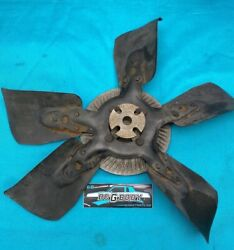1978 - 1988 Gbody Cutlass 305 Cooling Fan With Clutch Assembly Oem Genuine Gm