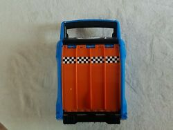 Hot Wheels Way Too Fast Storage With Fold Out Ramp Plus 20 Cars Included