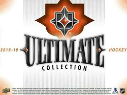 2018-19 Upper Deck Ultimate Collection Hockey Hobby Box With Free Shipping