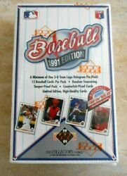 1991 Upper Deck Baseball Mlb Collectors Choice Find The Nolan Factory Sealed