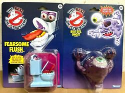 In Hand Hasbro Kenner Retro Ghostbusters Fearsome Flush And Bug-eye Ghost