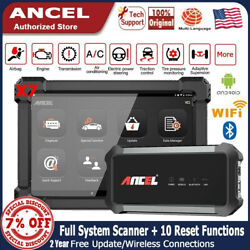Ancel X7 Obd2 Full System Bluetooth Abs Tpms Airbag Scanner Car Diagnostic Tool