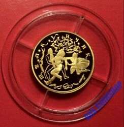 50 Roubles 1996 Russia Russian Ballet The Nutcracker Gold Proof Rare