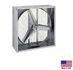 Agricultural Exhaust Fan - Direct Drive - 36 - 1 Hp - 230/460v - 13,080 Cfm