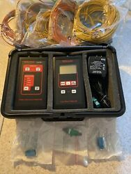 Wilcom Fiber Source And Meter Fs8514a Fm8515b Excellent Condition With Extras