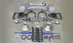 1949-54 Chevy Mustang Ii Complete Front Suspension Manual Stock Ford + Sway Bar