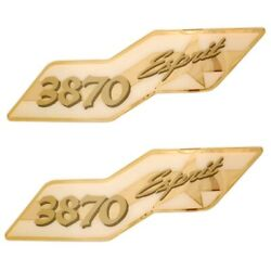 Cruisers Yachts Boat Decal | 3870 Esprit Foam Filled / Raised Pair