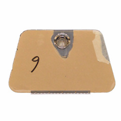 Jet Boat Center Lid Hatch 7408-2370   Brown Tint 16 1/4 X 10 Inch