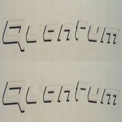 Bayliner 48 Inch Quantum Black/white Boat Decal Decals