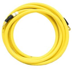 Boat Battery Cable | 1/0 Awg 15 Foot Yellow