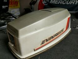 Evinrude Omc Johnson 50 Hp Outboard Boat Motor Hood Cowl Cover Cowling Lark 60s