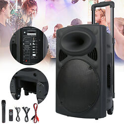 12 Professional Power Active Dj Pa Speaker Bluetooth Usb Remote Portable Party