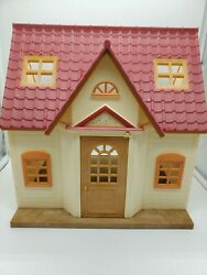 Epoch Calico Critters Cozy Cottage House Sylvanian Family Red Roof Starter Box73