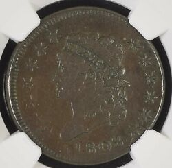 1808 Ngc Vf-30 Classic Head Large Cent