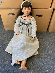 Artistic Doll Ruby Doll Collection Porcelain Doll 36 5/8in Top Condition