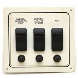 Standard Boat Livewell Switch And Breaker Panel   Century Boats Das-000100