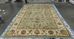 Green / Gold 9and039-6 X 13and039-6 Damaged Rug Reduced Price 1172621605 Hg343a-10