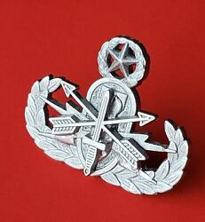 Master Explosive Ordnance Sf Special Forces Badge Eod Bomb Disposal Military Pin