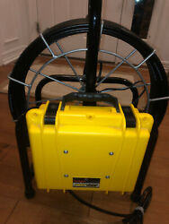 Insight Vision Fastcam Color Sewer Inspection System 130' Never Used