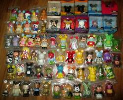 Misc Lot Of 20 Urban Park Muppets Cutesters Toy Story Vinylmation Disney Authent