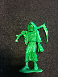 Rare Green Grim Reaper Mpc Horrors Monster Toy Figure Vintage 1960's