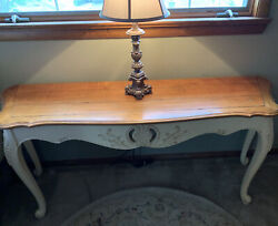 Ethan Allen Legacy French Country Console Table-model 13-9621e