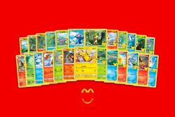 Mcdonalds Pokemon 25th Anniversary - Choose Your Card All Cards Available