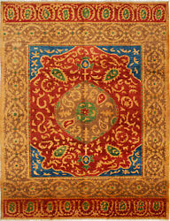 Modern Hand-knotted Carpet 10and0393 X 13and0397 Oriental Wool Area Rug