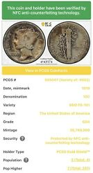 1919 Mercury Dime Doubled Die Obverse Fs-101 Pcgs Gold Shield G04 Andmdash Rare
