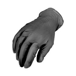 10000 Pieces Black Synthetic Vinyl Gloves Piercing Tattoo Powder Free Small
