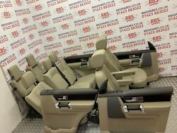 Land Rover Discovery 4 Full Interior 7x Seats+ 4x Door Cards 2010-2016