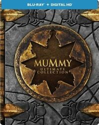The Mummy Ultimate 4-movie Collection Blu-ray Steelbook + Digital New Free Ship