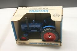 Fordson Super Major Die Cast Ertl Toy Tractor 116 Scale Mint Nos In Box, 1988