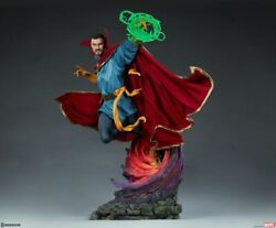 """Marvel Comic Avengers Doctor Strange 23"""" Maquette Statue Sideshow Collectibles"""