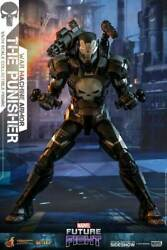 The Punisher War Machine Armour Marvel Future Fight 16 Figure By Hot Toys