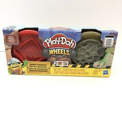 Play-doh Wheels Brick And Stone Buildinandrsquo Compound 2-pack Of 8 Oz Cans Toy Kids