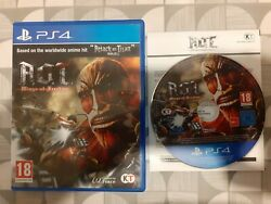 Ps4 A.o.t Wings Of Freedom - Attack On Titan Sony Playstation 4