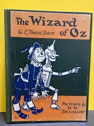 The Wizard Of Oz 1903 Pictures By W W Denslow The Bobbs-merrill Company Hard Cov