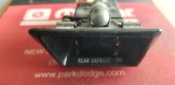 1984-1987 Dodge Charger Shelby Rear Defogger Switch With Cove