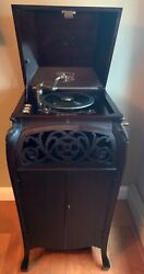 Antique Sonara Phonograph Baby Grand Victrola Cabinet Great Condition Reduced